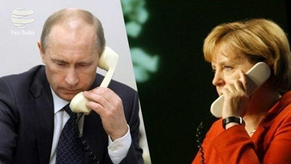 محور گفتوگوی تلفنی پوتین و مرکل