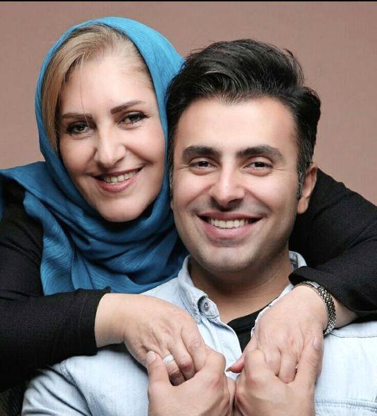 علیرضا تلیسچی و مادرش + عکس