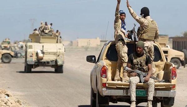 پاکسازی عامریه فلوجه از تروریست های داعش