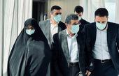 احمدی نژاد و همسرش در دبی + عکس