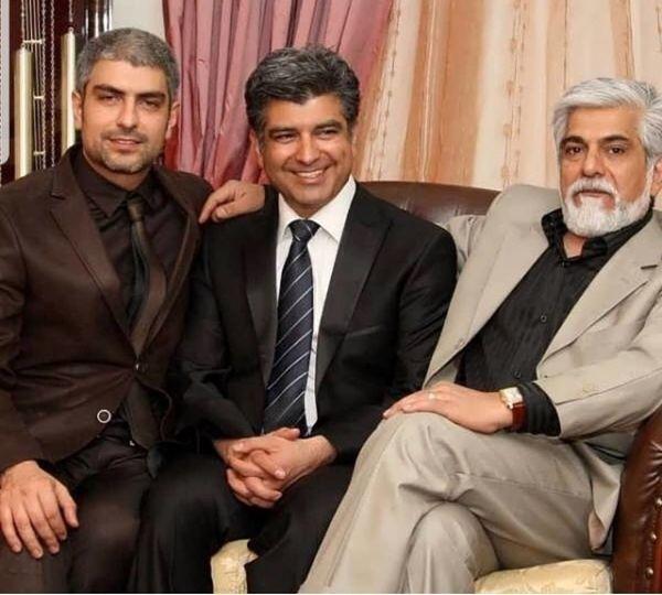 مهدی و حسین پاکدل در کنار برادرشان + عکس