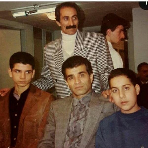 محمد شیری در جوانی + عکس
