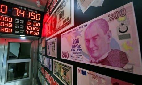 سرعت رشد اقتصادی ترکیه کاهش یافت