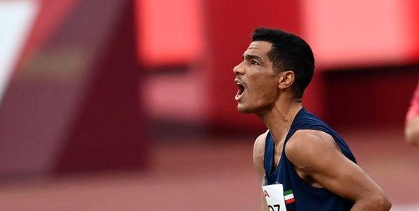 سعید افروز رکورد جهان را شکست / کسب مدال طلای پارالمپیک توکیو در مسابقات دوومیدانی