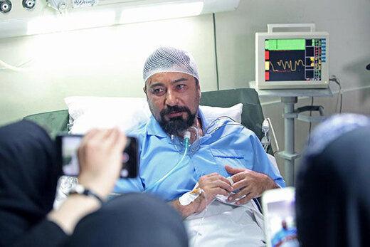 امیرحسین صدیق در بیمارستان