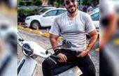 موتور سیکلت خفن آقای بازیگر + عکس