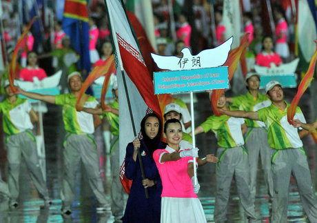 انتخاب پرچمدار کاروان ایران در المپیک جوانان باز هم از میان دختران