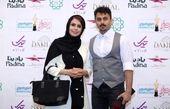 خانم مجری و همسرش در جشن حافظ+عکس