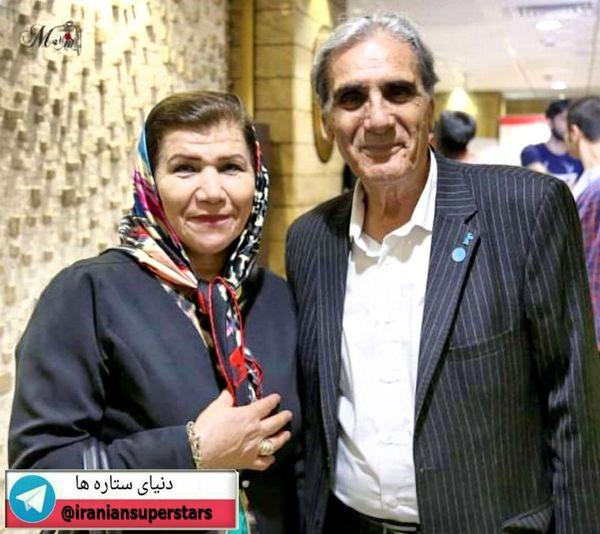 عکس بازیگر همیشگی مجید مجیدی در کنار همسرش