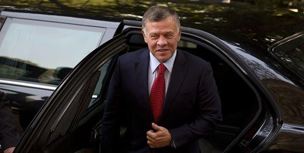 شاه اردن عازم ریاض شد