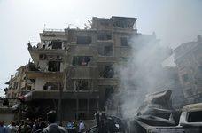 انفجاری بزرگ دمشق را لرزاند