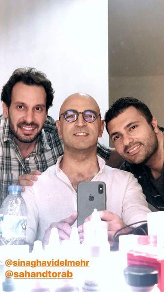 مهران نائل و همکارانش + عکس