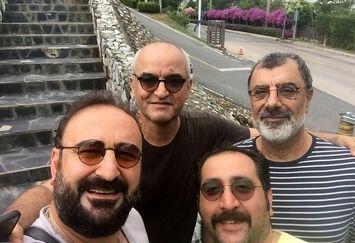 جمع عینکی ها در سگ بند مهران احمدی+عکس