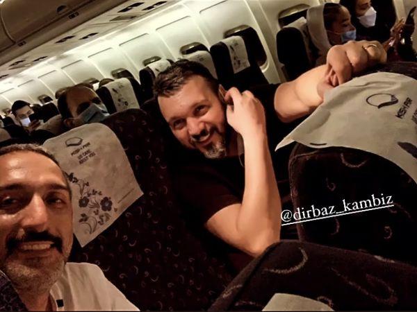 امیرمهدی ژوله و کامبیز دیرباز در سفر + عکس