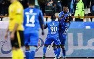 پیروزی آبیها با بازیکن «چاقِ» خبرساز