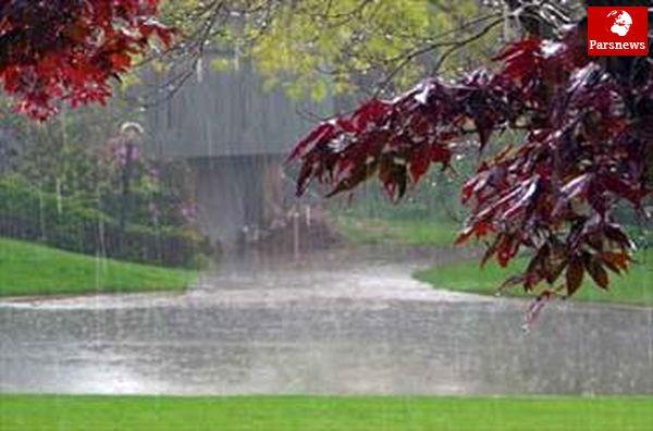 آسمان کشور بارانی می شود