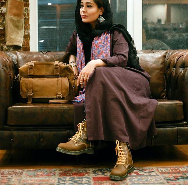 تیپ اسپورت رسمی سانیا سالاری+عکس