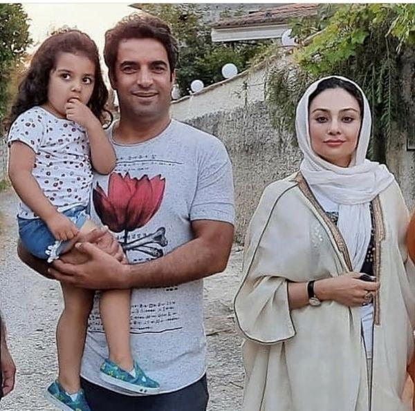 خانواده شاد یکتا ناصر در سفر شمال + عکس