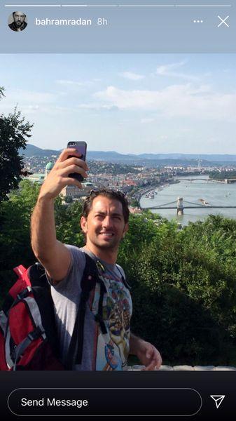 بهرام رادان در خارج از کشور + عکس