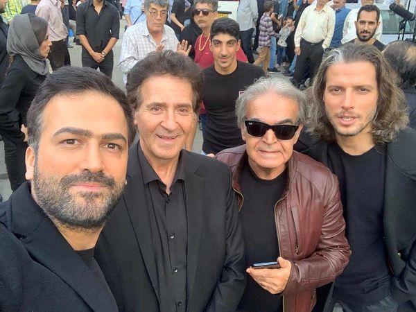 حمید لولایی با گروه گریه کنان+عکس