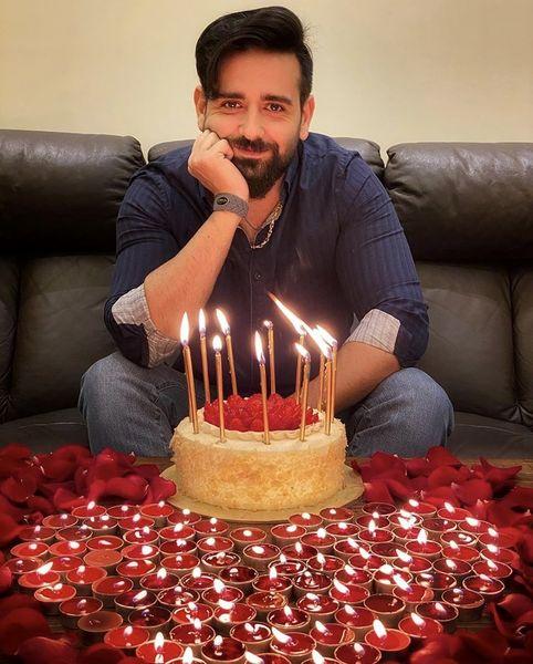 تولد ساده امیرحسین آرمان + عکس