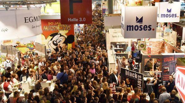 آغاز به کار بزرگترین رویداد نشر در جهان درفرانکفورت
