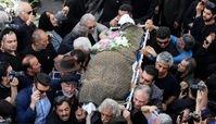 ناآرامی در مراسم تشییع ناصر ملک مطیعی