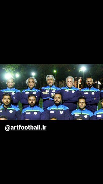 امیر غفارمنش در تیم فوتبال هنرمندان + عکس