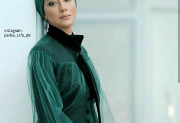 تیپ سبز و مجلسی بهاره کیان افشار+عکس
