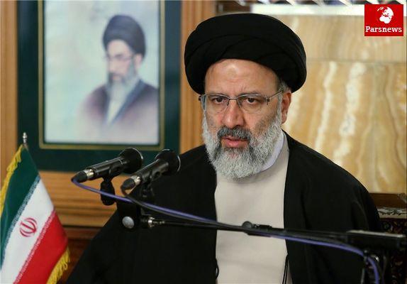 آیت الله رئیسی :مردم در ۲۲ بهمن پاسخ یاوهگوییهای رئیسجمهور آمریکا را خواهند داد