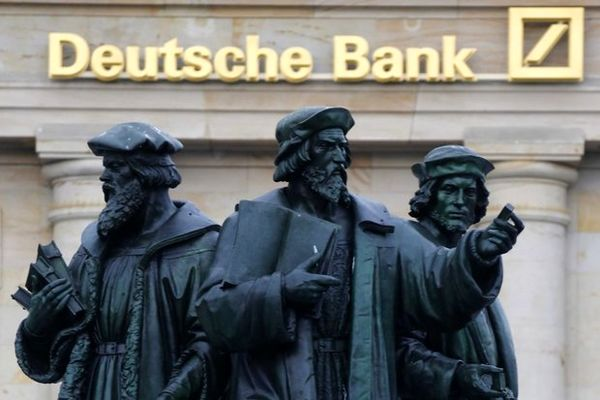 پلیس آلمان به دفاتر دویچه بانک هجوم برد