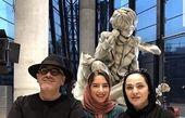 داور معروف عصر جدید در کنار همسر و دخترش+عکس