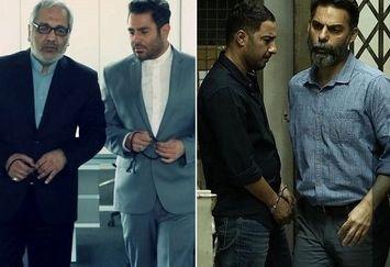 نوید محمدزاده و پیمان معادی در تعقیب مهران مدیری و محمدرضا گلزار