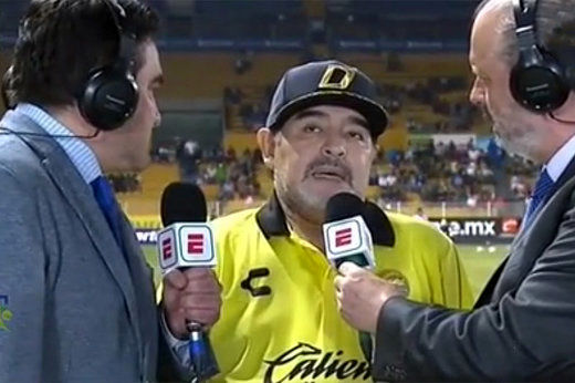 مارادونا و یک عمل موفقیتآمیز جدید