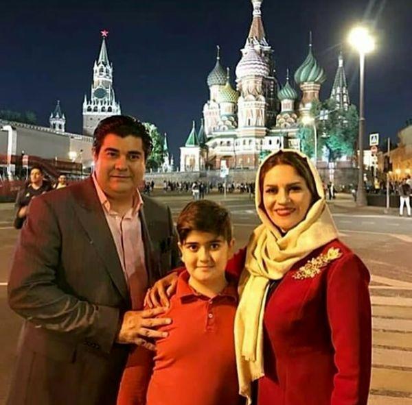 سالار موسیقی ایران و خانواده در روسیه+عکس