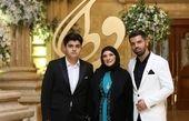 عکس همسر و فرزندان فیلسوف سینمای ایران