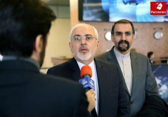 ظریف با دبیر کل سازمان ملل درباره حملات تروریستی تهران گفتوگو کرد