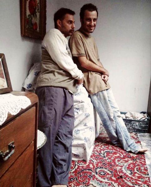 وقتی نوید محمدزاده خیلی لاغر بود + عکس