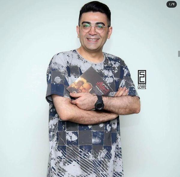 فرزاد حسنی با تیپی دیده نشده + عکس