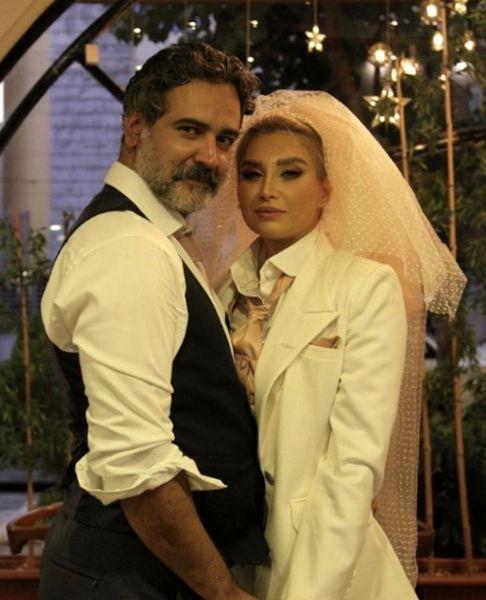 عمار تفتی ازدواج کرد + عکس
