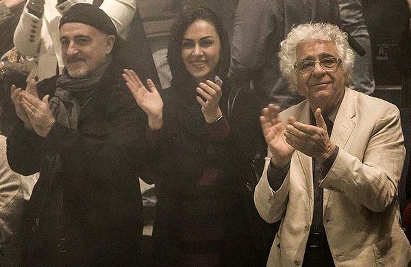 شیوا ابراهیمی در جمع تئاتری ها + عکس