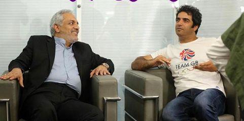 تبریک کارگردان «رحمان 1400» برای تولد مهران مدیری