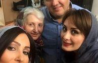 تولد پرستو صالحی در جمع خانواده+عکس