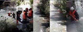 یافتن جسد دختربچه کرجی پس از ۲۵ روز در رودخانه کرج
