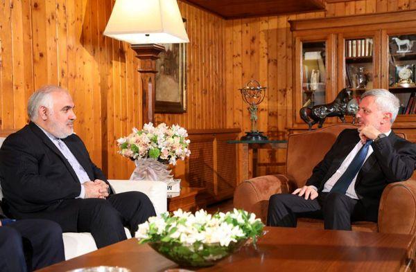 سفیر ایران با سیاستمدار برجسته مسیحی لبنان دیدار کرد