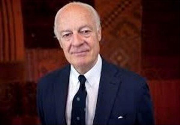 آغاز مذاکرات نمایندگان روسیه، ترکیه و ایران با «دیمیستورا» در ژنو