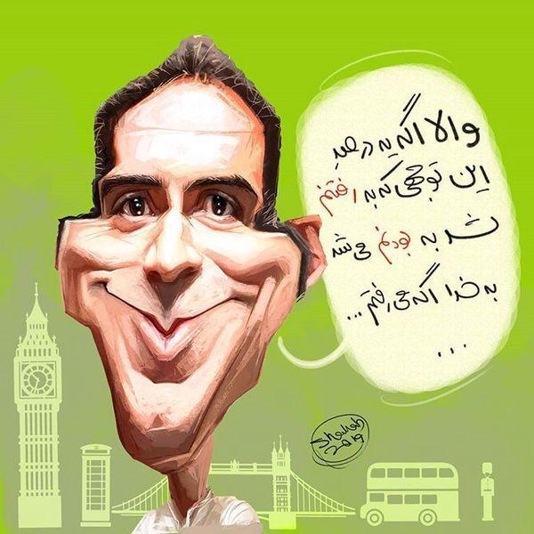 واکنش طنز مزدک میرزایی به حواشی مهاجرتش!+عکس