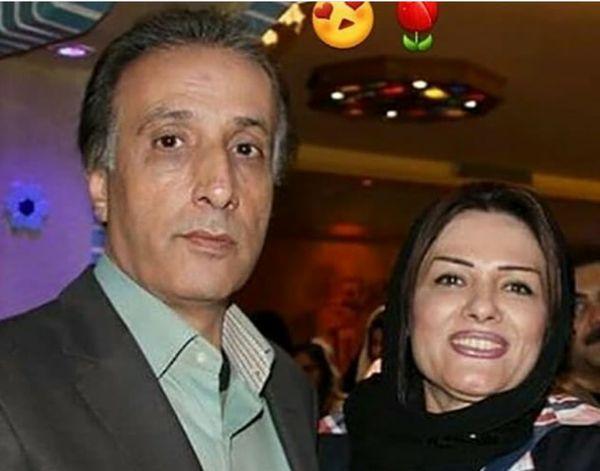 محمدرضا حیاتی و همسرش+عکس