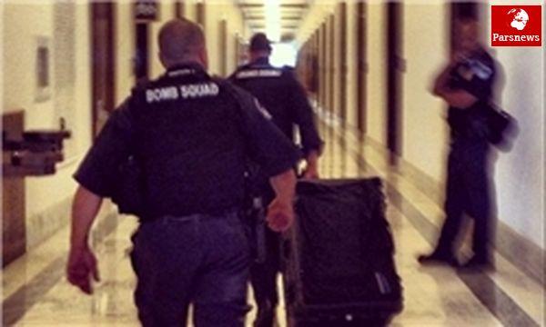 تخلیه ساختمان کنگره آمریکا پس از شناسایی بسته مشکوک