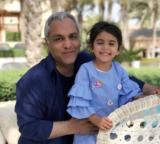 عکس مهران مدیری و دختر نمکی